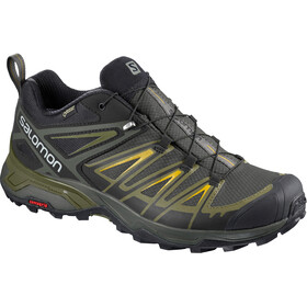 Salomon X Ultra 3 GTX Sko Herrer, sort/oliven
